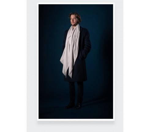 Cream cashmere scarf - Cinabre Paris