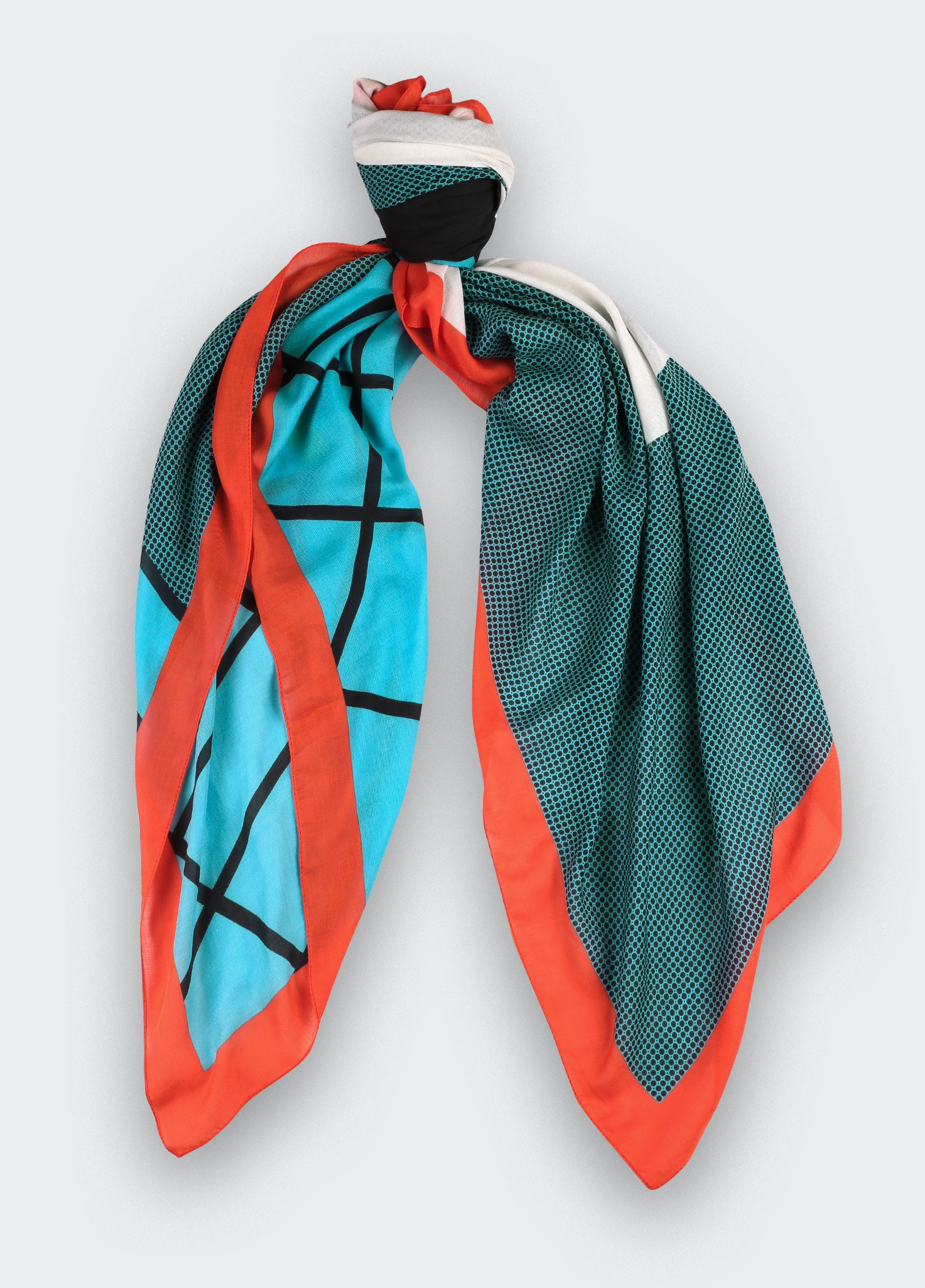 Cocktail UFO Pyramid Scarf