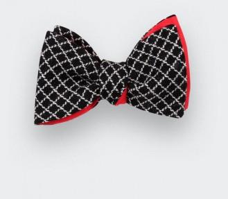 Noeud Papillon Carreaux Vintage - Cinabre Paris