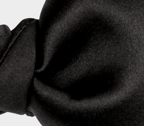 Noeud Papillon Satin Noir Classique - Fait main - Cinabre Paris
