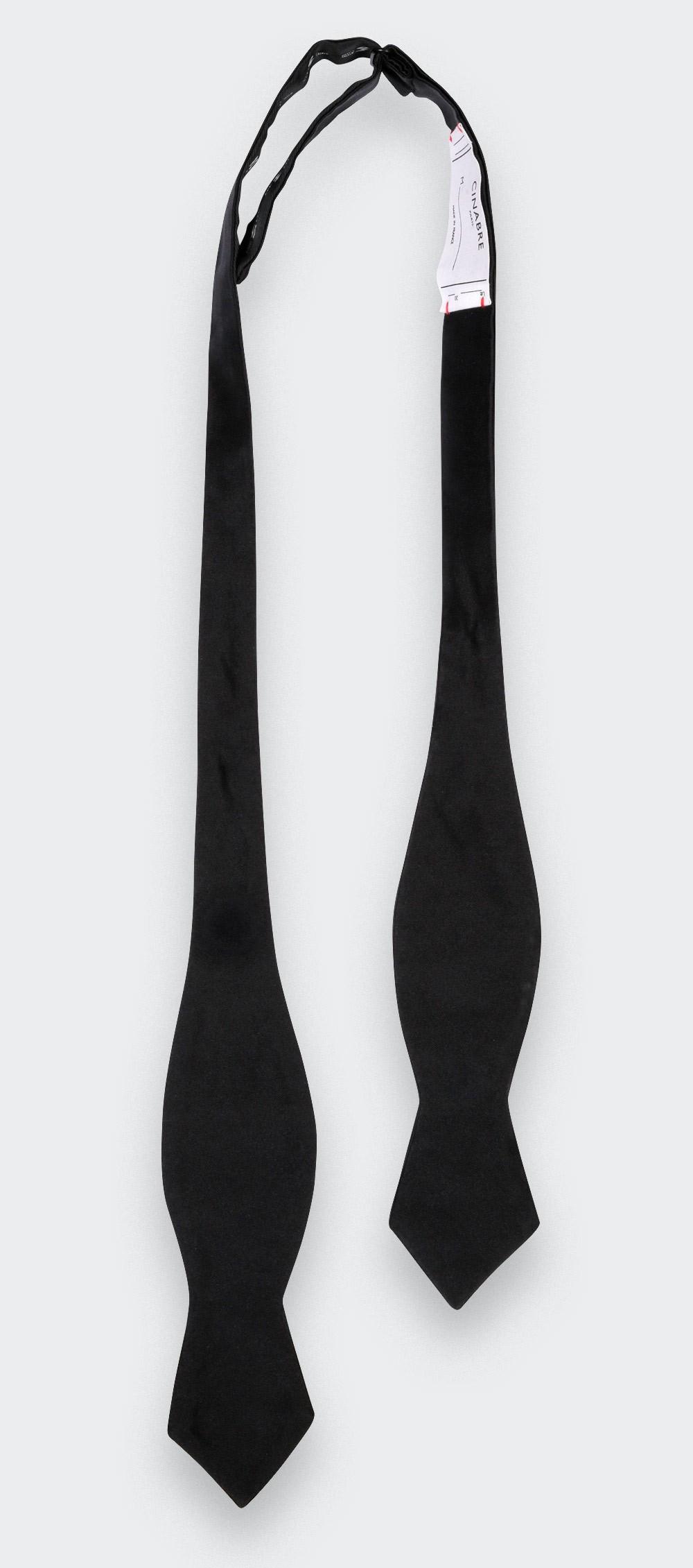 Diamond Point Self Tie Bow Tie - Cinabre Paris