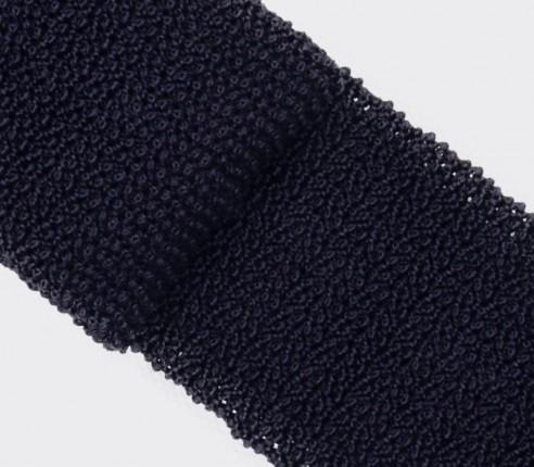 Cravate Tricot Marine - Cinabre Paris