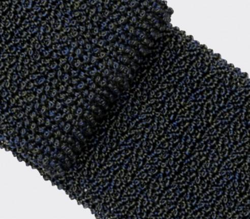 Cravate Tricot Marine Vert - Cinabre Paris