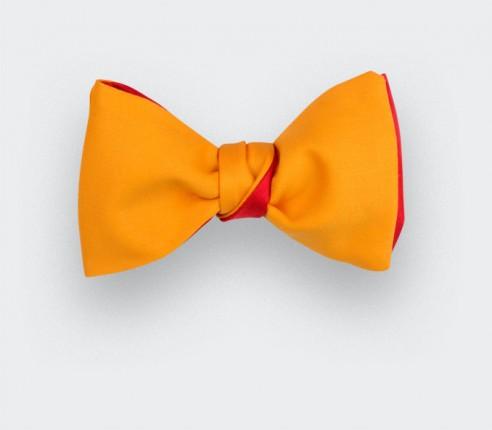 Bow Tie -Orangy Yellow- Cinabre Paris