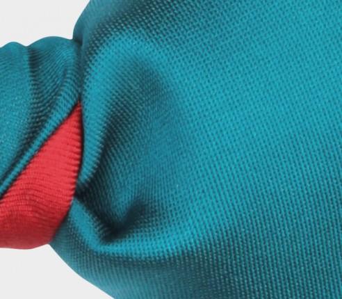 Peacock Blue Silk Bow Tie - Cinabre Paris
