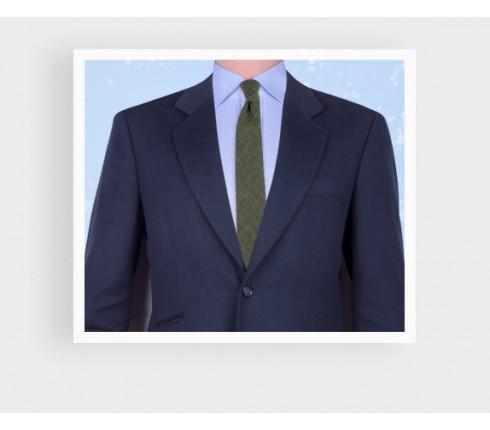green manosque tie - linen - cinabre paris