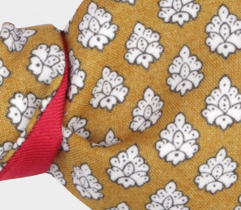 Yellow Provence Bow Tie - Handmade by Cinabre Paris