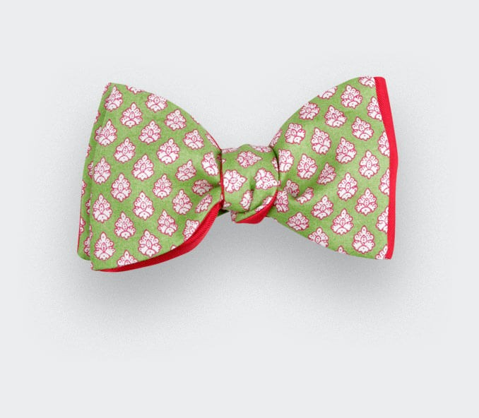 Green Provence Bow Tie - Cinabre Paris