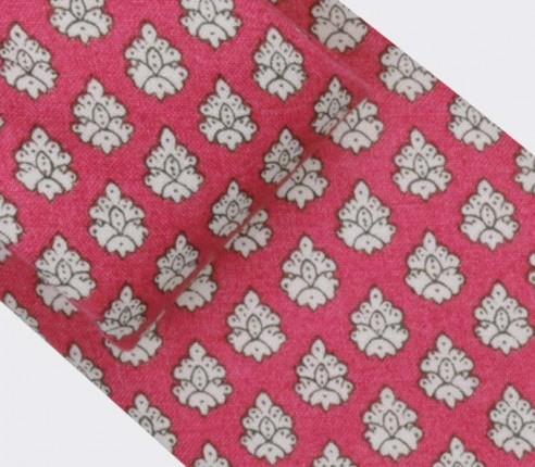 Cravate Provence Rose - Fait main par Cinabre Paris