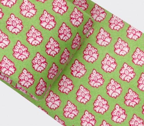 Green Provence Tie - Handmade by Cinabre Paris