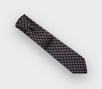Anthracite Grand Pan Tie - Cinabre Paris