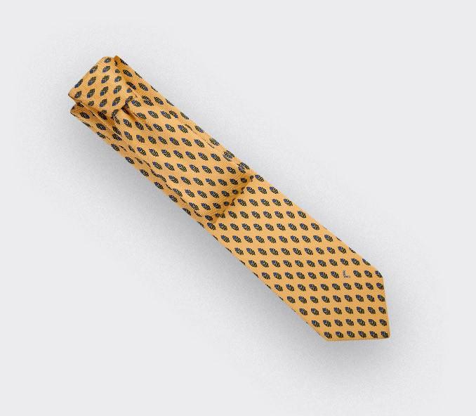 Yellow Grand Pan Tie - Cinabre Paris