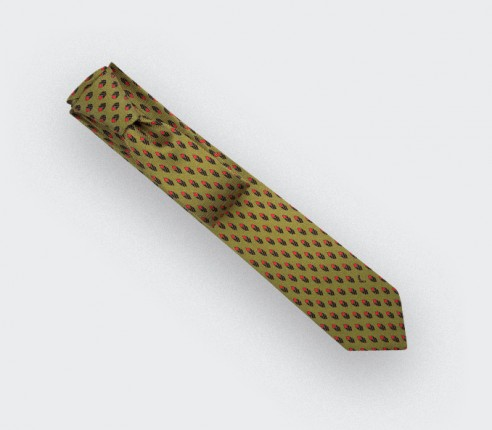 Mustard Grand Pan Tie - Cinabre Paris