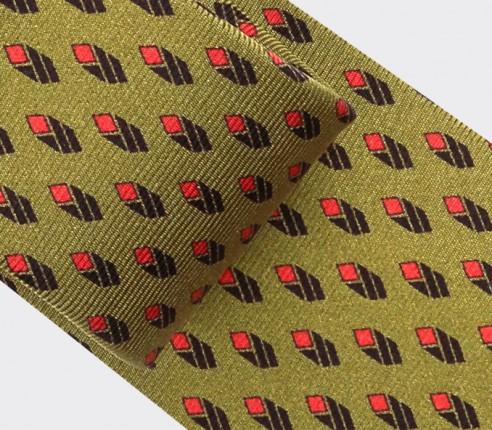 Mustard Grand Pan Tie - Cinabre Paris