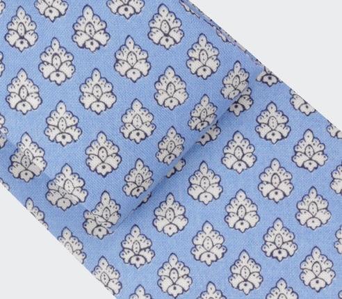 Cravate Provence Bleu Ciel -  Cinabre Paris