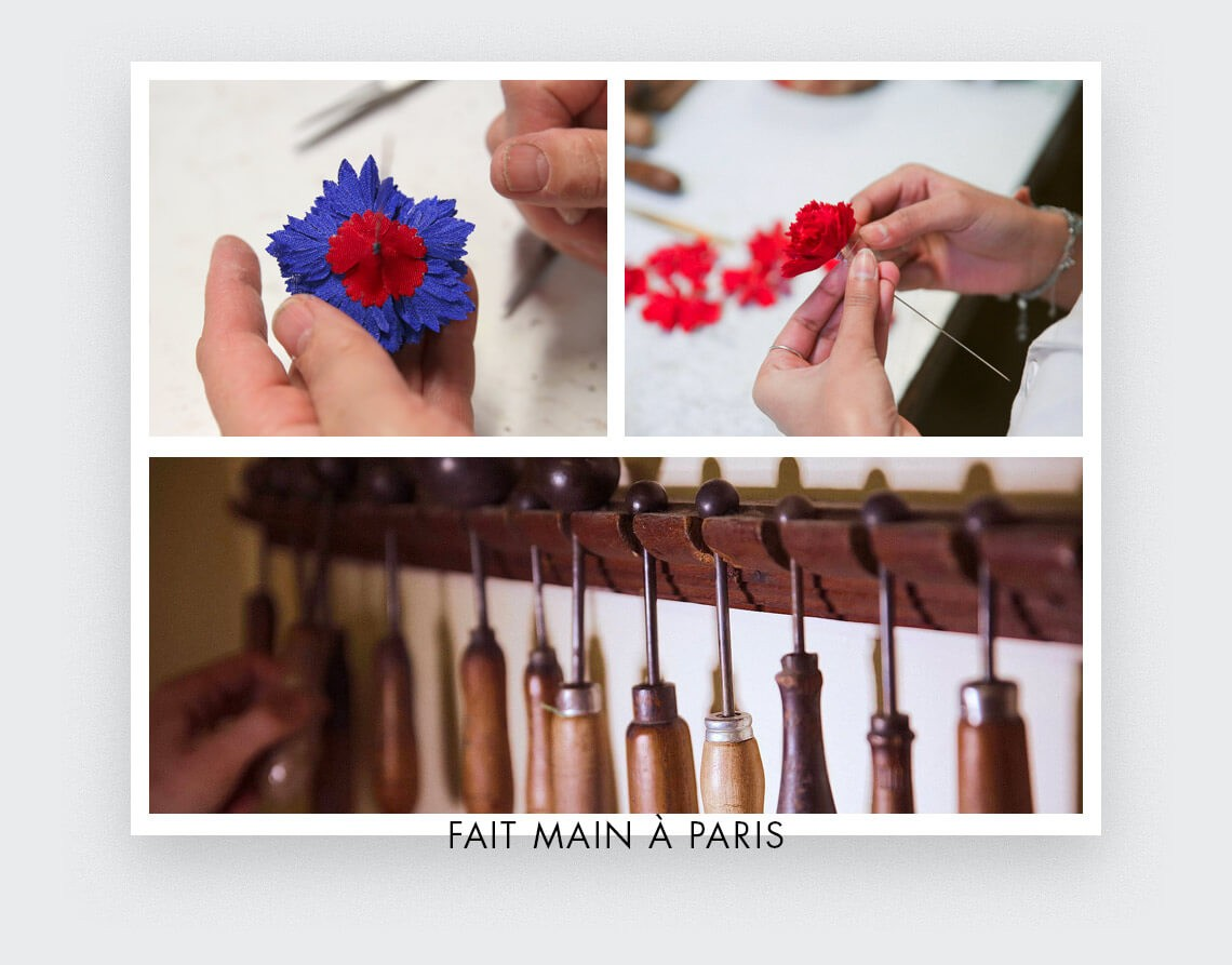 Handmade in Paris, France by Cinabre Paris