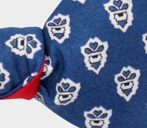 Blue Mistral Bow Tie - Handmade by Cinabre Paris