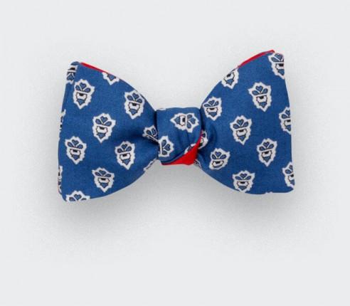 Noeud Papillon Mistral Bleu - Fait main par Cinabre Paris