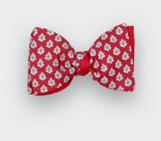 Red Provence Bow Tie - Handmade by Cinabre Paris
