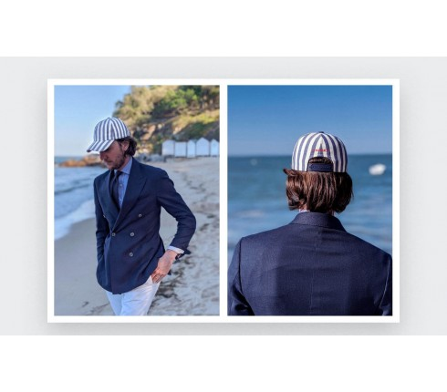 Cap Cinabre noirmoutier no1 Made in France