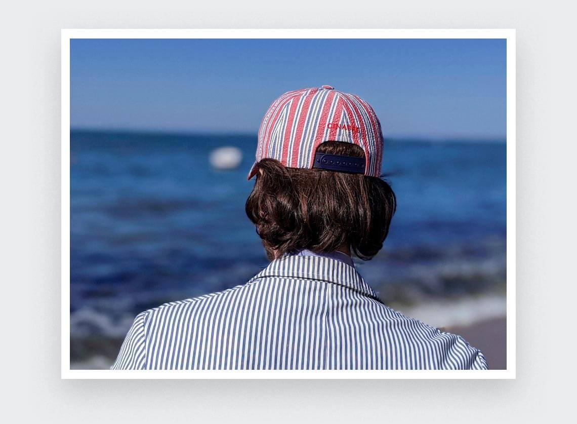 Cap Cinabre Cape Cod n°1 Made in France