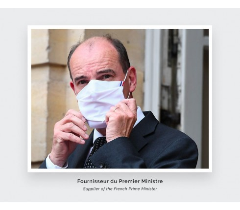 Cinabre Paris Face Masks - Supplier of the French Prime Minister