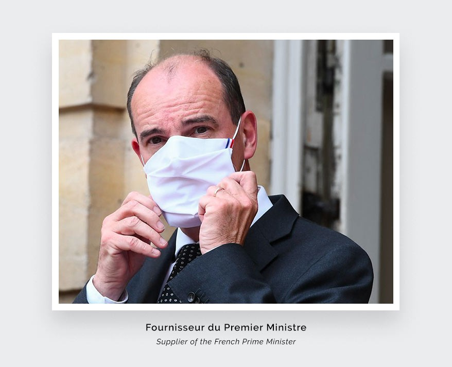Cinabre Paris - Fournisseur de masques du Premier Ministre