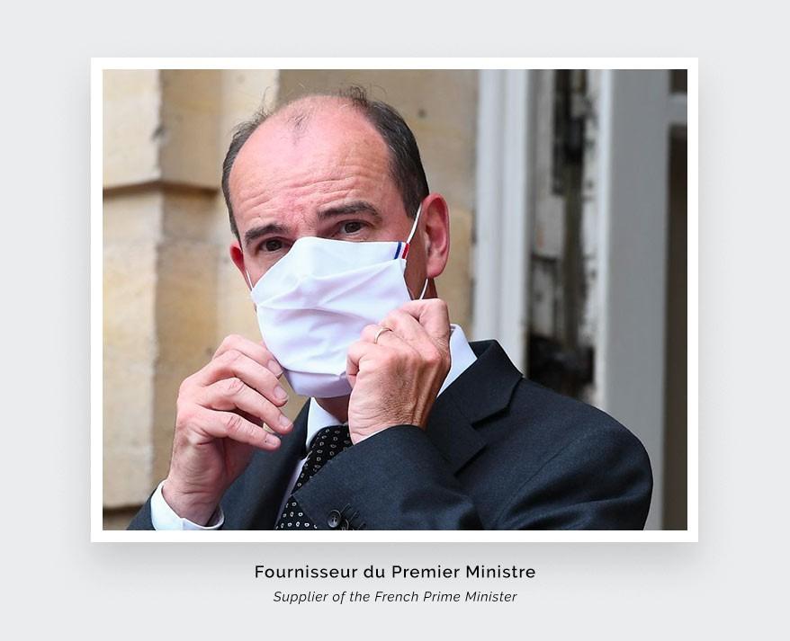 Masque Cinabre - Fournisseur du Premier Ministre