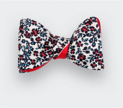 Cinabre Flowers Bow Tie