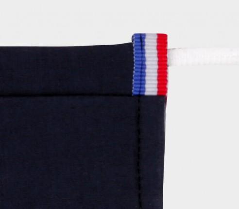 Masque Bleu Marine Cinabre - Made in France