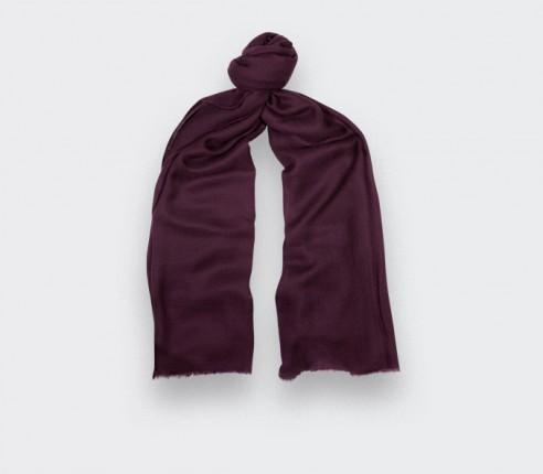 Foulard cachemire Violet - Cinabre Paris -
