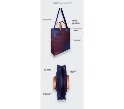 Burgundy Hauteville Bag