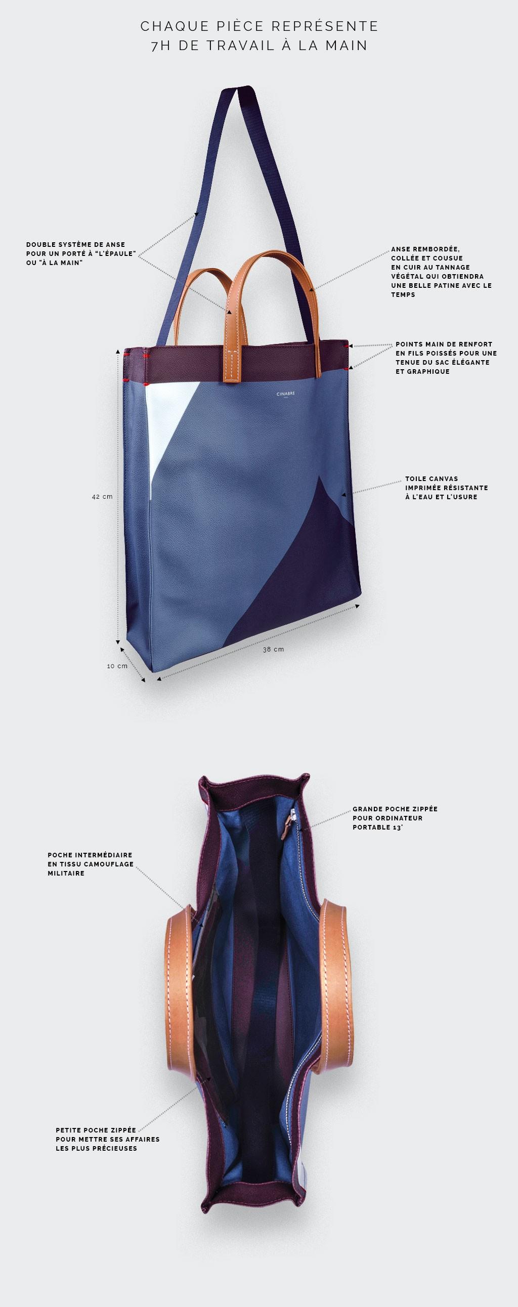 Grey Hauteville Bag