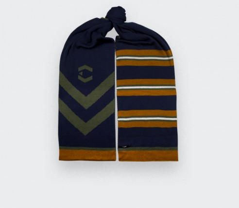 Cinabre Varsity Scarf n°4 - Made in France