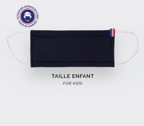 Masque enfant grand public filtration supérieure à 90% made in France
