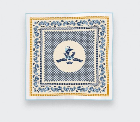 Foulard Paris x Los Angeles Crème