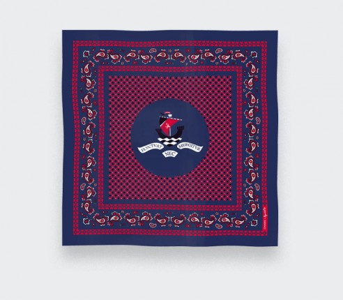 Foulard Paris x Los Angeles Navy