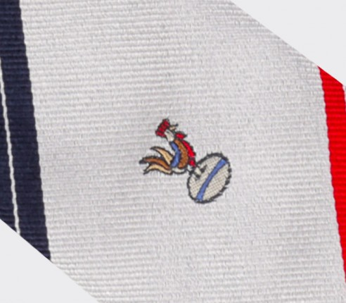 Cravate XV de France - Fabriquée en France par Cinabre Paris