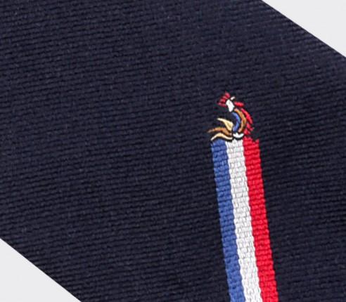 Cravate Crunch - Fabriquée en France par Cinabre Paris