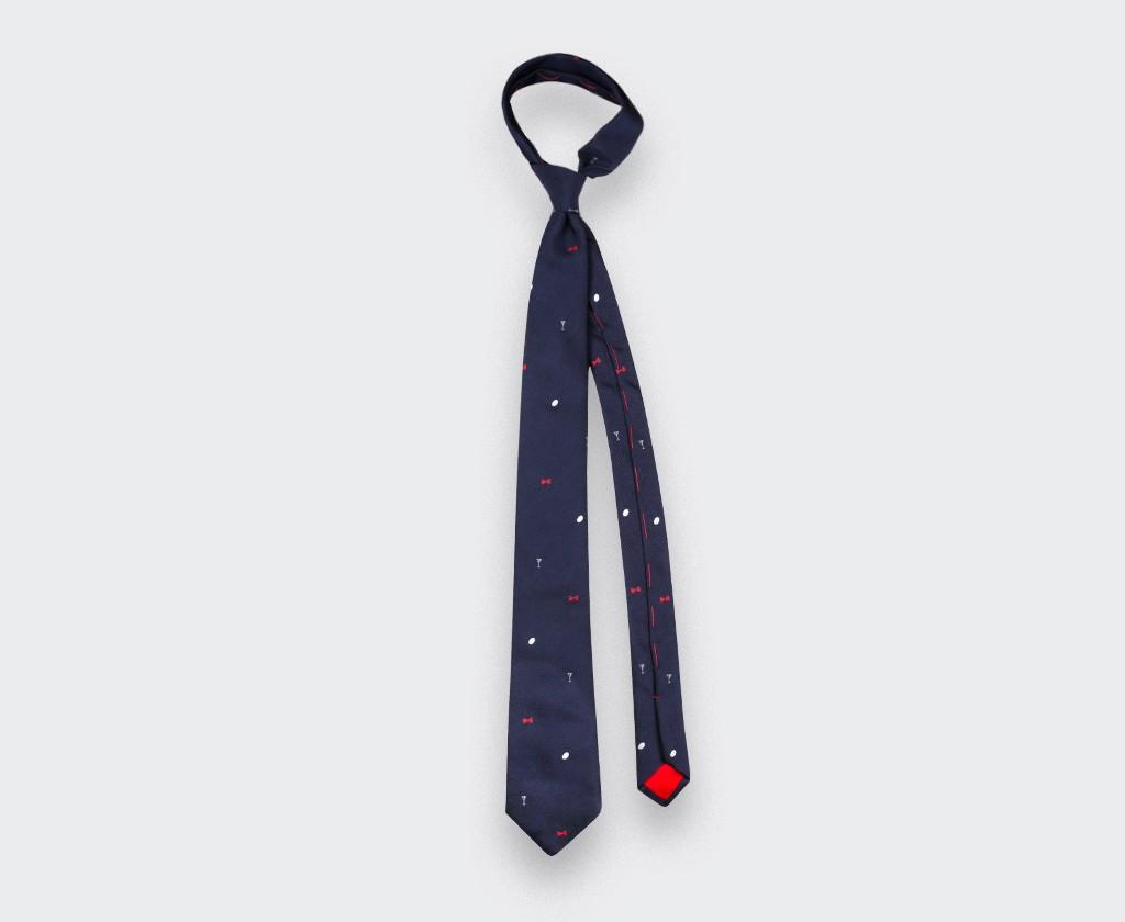 Third-Half Tie - made in France by Cinabre Paris