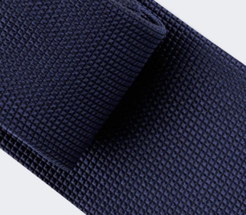 Cravate Lézard Bleu Marine - soie - Cinabre Paris