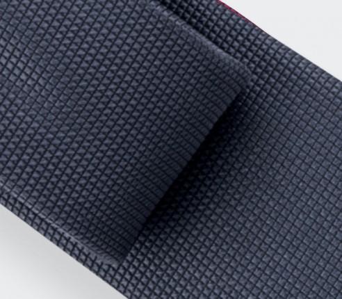Grey Lizard Tie - Silk - Cinabre Paris