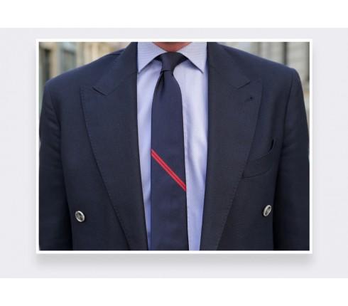 Cravate Monorayure Rouge - Cinabre