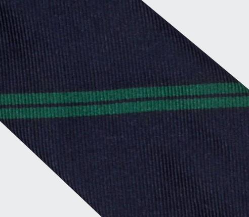 Cravate Monorayure Verte - Cinabre Paris