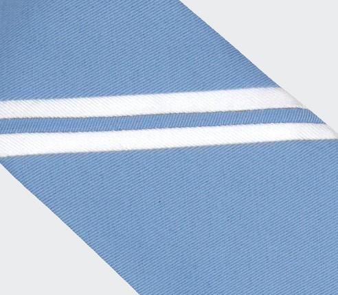 Cravate Monorayure Piécé Ciel - Cinabre Paris