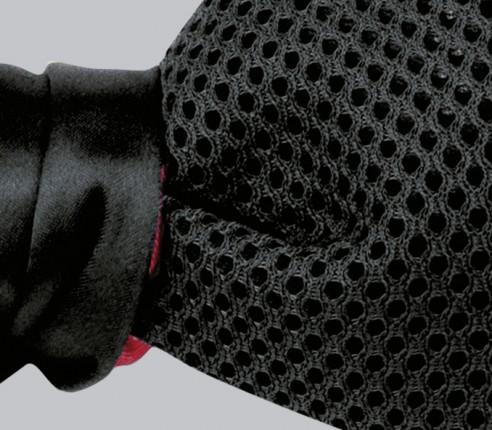 Black airtex Bow Tie - Cinabre Paris