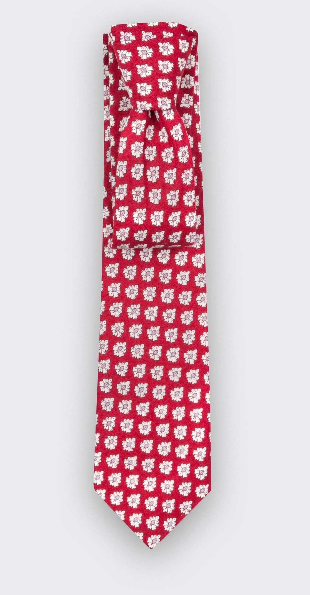 Red Provence Tie - Cinabre Paris