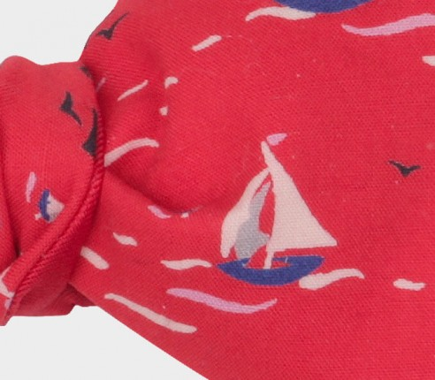 Sailing Boats Kid Bow tie - Handmade by Cinabre Paris