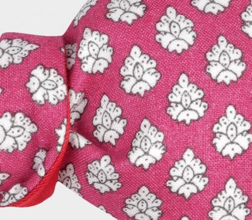 Noeud Papillon Enfant Provence Rose - Fait main par Cinabre Paris