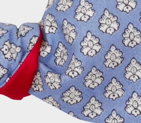 Light Blue Provence Kid Bow Tie - Handmade in France